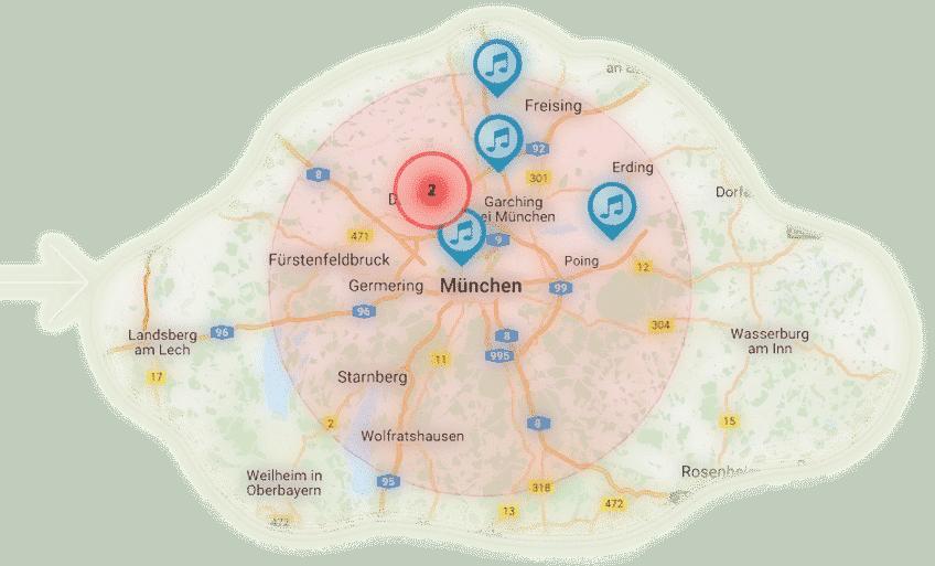 hochzeitdienstleister suche, hochzeit profi geo-location
