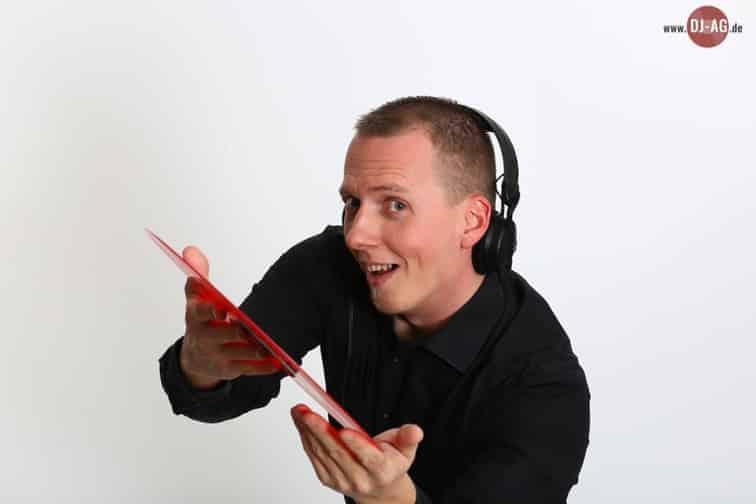 Jens Hahn legt auf, der Club DJ unter den mobilen DJs